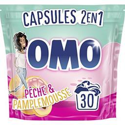 Omo Capsules de lessive Festival de Fruits et Fleurs d'E... le sachet de 30 capsules - 723 g