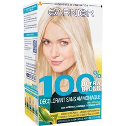 Décolorant sans ammoniaque 100% ultra blond