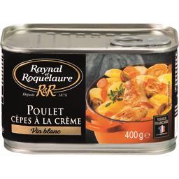 Raynal & Roquelaure Poulet cèpes à la crème vin blanc