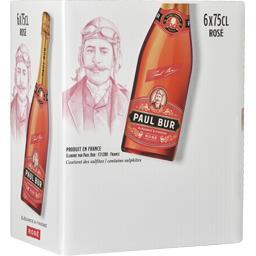 Paul bur Vin mousseux rosé la bouteille de 75 cl