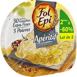 Fromage apéritif 3 poivres