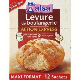 Action Express, levure de boulangerie