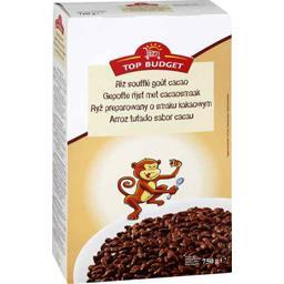Riz soufflé au chocolat en poudre et au chocolat au ...