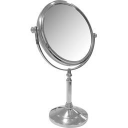Miroir sur pied double face