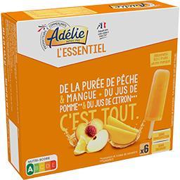 L'Essentiel - Bâtonnets 100% fruits pêche mangue