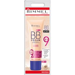 Rimmel London Baume de beauté BB Cream 9en1 001 Light le tube de 30 ml