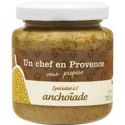 Un Chef en Provence Spécialité à l'anchoïade le pot de 110 g