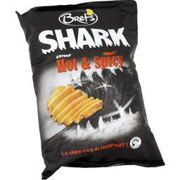 Bret's Shark - Chips saveur Hot & Spicy le paquet de 120 g