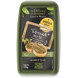 Tapenade verte, pâte d'olives vertes assaisonnée