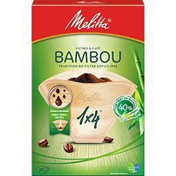 Filtres à café 1x4 bambou