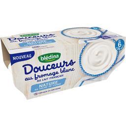 Douceurs au fromage blanc nature, de 6 à 36 mois