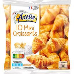 Mini-croissants pur beurre