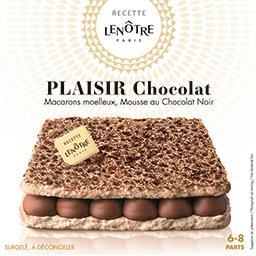 Recette Lenôtre - Le Plaisir au chocolat