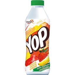 Yop - Yaourt à boire parfum fraise banane