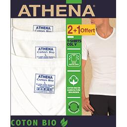 Tee-shirts col V coton BIO taille 6