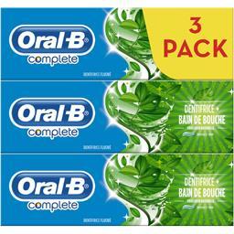 Complete - Dentifrice bain de bouche fraîcheur naturelle