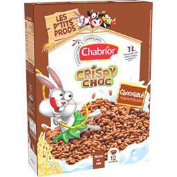Céréales Crispy Choc chocolaté