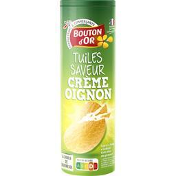 Tuiles saveur crème oignon