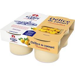 Délice de yaourt mirabelle