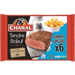 Charal Tendre de Bœuf aux 3 poivres