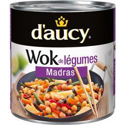 Wok de légumes Madras