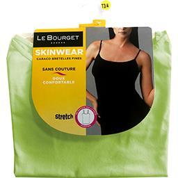 Caraco Skinwear bretelles fines taille 3/4 vert