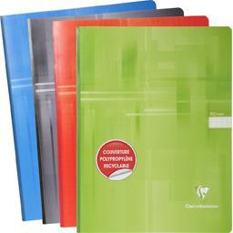 Cahier brochure 240x320 seyes 4 couleurs assorties