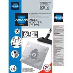 Sacs aspirateurs DOM-16 compatibles Miele, Hoover, K...