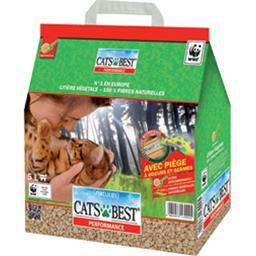 Cat's Best Litière végétale agglomérante 100% fibres naturelles