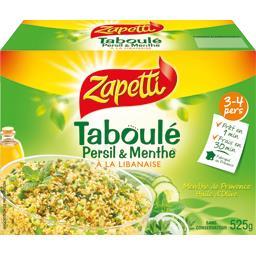 Taboulé persil & menthe à la libanaise