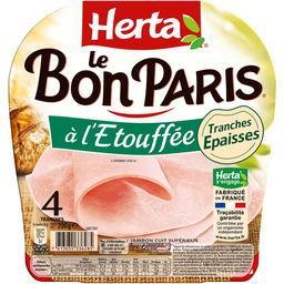 Le Bon Paris - Jambon cuit à l'étouffée tranches épa...