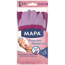 Mapa Gants Protection Manucure Taille L - Lot de 3