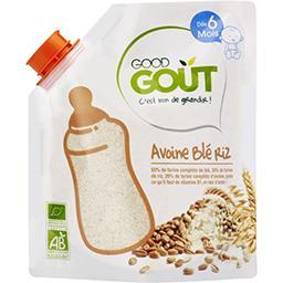 Avoine blé riz BIO, dès 6 mois