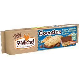 Cocottes - Biscuits nappées chocolat céréales soufflées