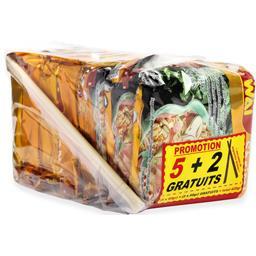 Wai Wai Nouilles instantanées saveur crevettes les 5 paquets de 60 g