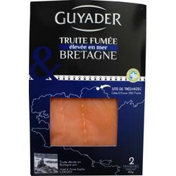 Truite fumée Bretagne élevée en mer