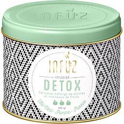 Infusion Detox thé vert, pomme, passion