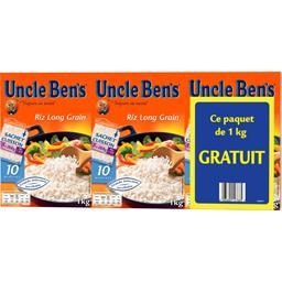 Uncle Ben's Riz long grain sachet 10 minutes