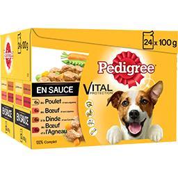 Vital Protection - Viandes en sauce pour chien