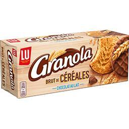 Granola - Sablés brut de céréales chocolat au lait L...