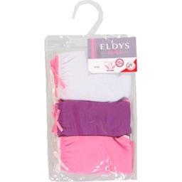 Slips violet/blanc/rose pocket fille 4/5 ans