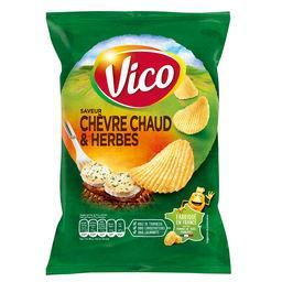 Chips chèvre chaud et herbes Vico