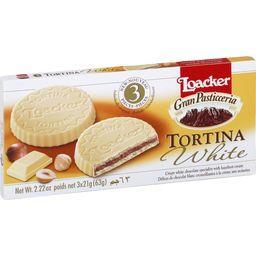 Biscuits Tortina White
