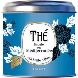 La Malle à Thé Thé vert Escale en méditerranée la boite de 100 g