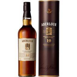 Aberlour Highland Single Malt Scotch Whisky 10 Years Ago