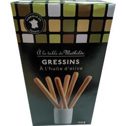 La table de mathilde Gressins sel et huil d'olive La boite de 125gr