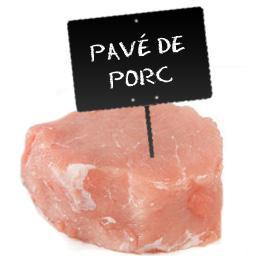 Pavé de PORC LABEL ROUGE