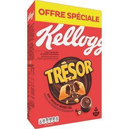 Kellogg's Trésor - Céréales fourrées goût chocolat noisettes