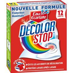 Décolor Stop - Lingettes anti-décoloration