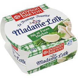 Madame Loïk - Le Fromage Fouetté ail & fines herbes